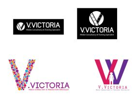 V.Victoria Logo Designs by thomasdyke