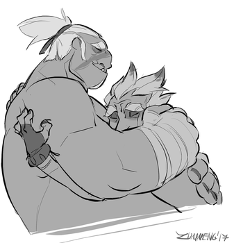 Sometimes Everybody Needs a Hug by Zummeng