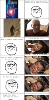 Kirk's Death Rage Comic by Kudos707