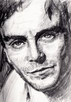 Michael Fassbender by KingVahagn