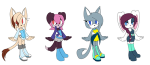 Cat - Rabbit Adopts * CLOSED * by Toony-Times