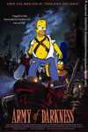 Homer Simpson vs ARMY OF DARKNESS by Sebastien-Ecosse
