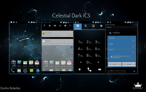 Celestial Dark ICS CM7 Theme by kingdonnaz