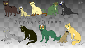 The Walking Dead .: Cats :. by QueenOfIllusion