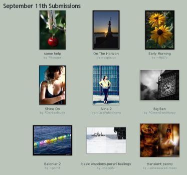 September 11th Submissions by Optimal-Photo