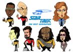 Star Trek The Next Generation Group Shot by Eastforth
