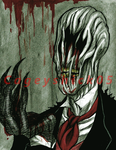 Blood rain - Slenderfather by Cageyshick05