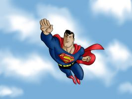 Superman by tyger168
