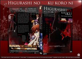 Dvd Cover: Higurashi no Naku by N1z1ra