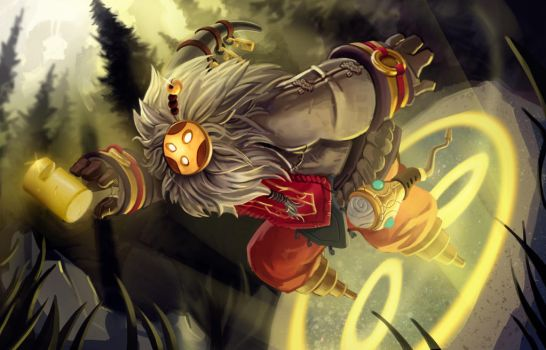 League of Legends - Bard by Trevor-Verges