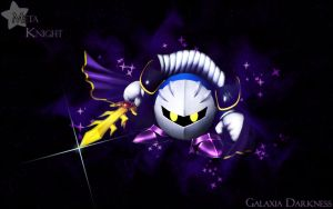 Galaxia Darkness - Meta Knight by kurama805