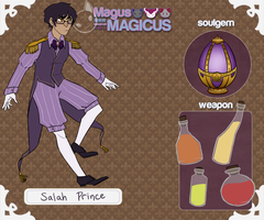 Magus Magicus: Salah Prince by VeniceLatte