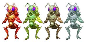 Insectoid by renoiro