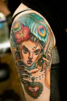 sweet lady by tattooneos