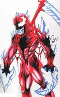 The Symbiote-Carnage-Anguish by xredsoulsx