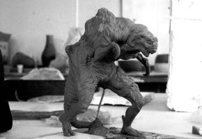 Very old sculpt by barbelith2000ad