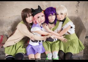School-Live! Cosplay 09 by eefai