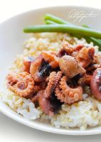 Stir Fried Octopus by VintageWarmth