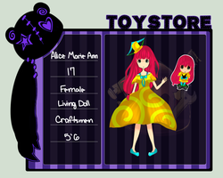 Toy Store : Marie Ann by ShineStar99