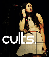 Madeline Follin of Cults by nicollearl