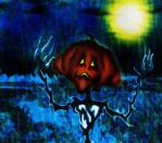 Misery of a Pumpkinhead by Frostkiller
