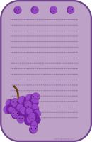Stationary Grapes by chii00