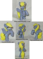 Custom Blind Bag Derpy Hooves My Little Pony Tiny! by mayanbutterfly