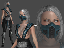 Mortal Kombat - Frost W.I.P. by TheRaiderInside