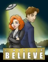 I Want To Believe by kimchizerbe