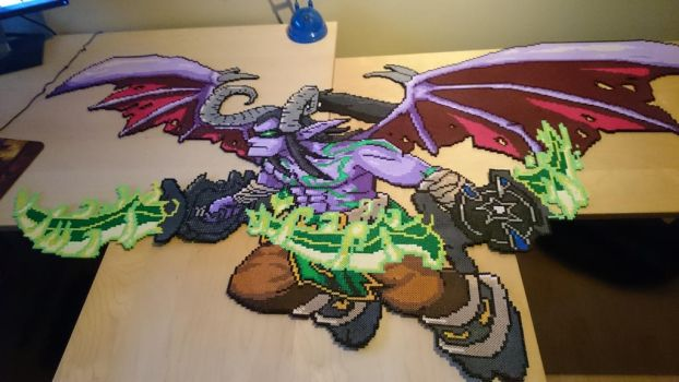 Illidan Stormrage - Complete! by MagicPearls