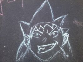 Black Star on the street! by thenumba1spaz