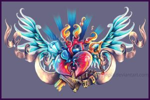 heart chest by Japla