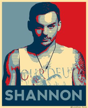 Shannon  Leto  blue + red by lovelives4ever