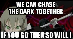 We can chase the dark together by RavenHunter502