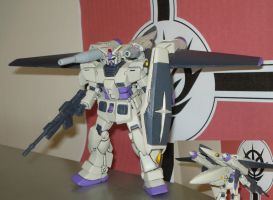 RX-78-3+ Gundam G3+ with G-Fighter attached by dog42a