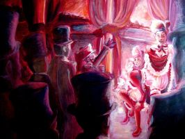 French cancan Moulin rouge by MangiE-31
