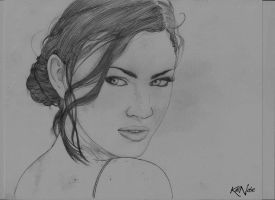 Megan Fox by kalnobe
