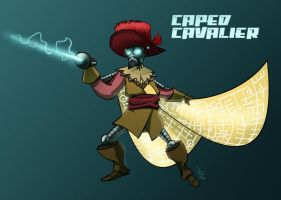 042 - Caped Cavalier by DBed