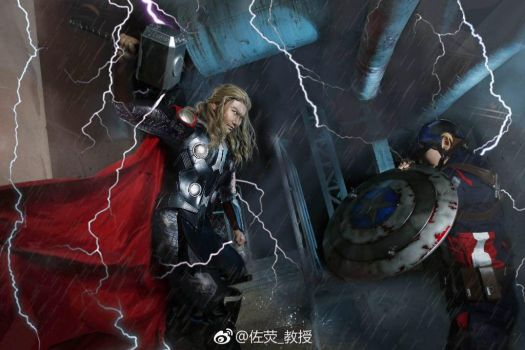 Avengers Age of Ultron- Thor by Zuoying