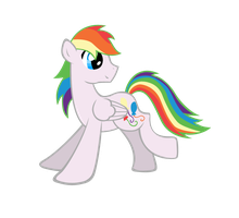 (OC) Rainbow (we couldn't come up with a name) by keeveew