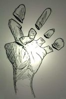 Hand Study 2 by ethician