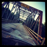 iPhone Snap: Caney River Bridge by Due-South