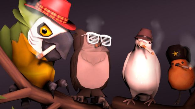 Burds by GhostOFSand