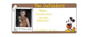 The Outsiders - twobit by drawwithme15