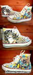 Owl and Dream Catcher Converse by DavidValdez
