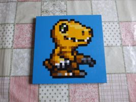 Agumon  from Digimon: Battle Spirit by wiKiwi