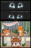 Tails of Fate- Page 1 by Spazzel