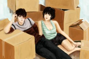 ATLA Snapshot: Moving Day by arelia-dawn