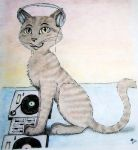 DjCat colored by Lutrina