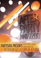 Szinyei Afterparty Flyer by andraspop